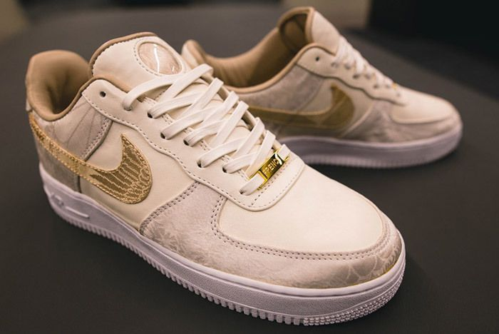 Deubré Bespokeind Nike Air Force 1 French Vanilla French Montana2
