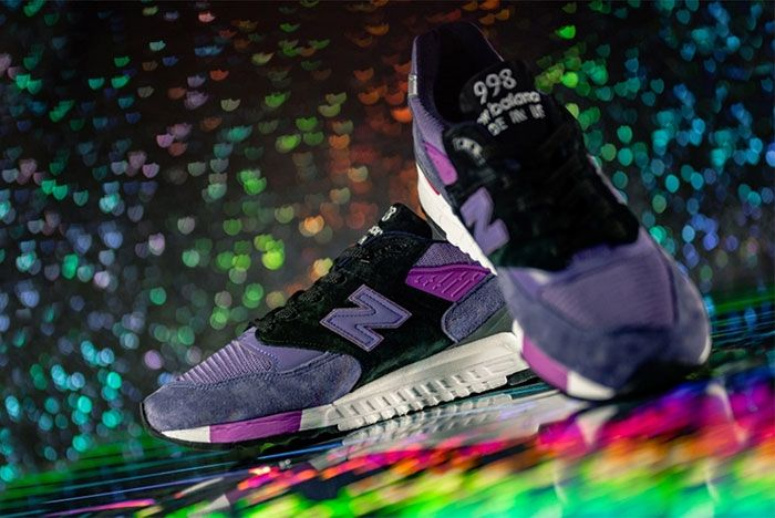New Balance M998Bld Medial Detail