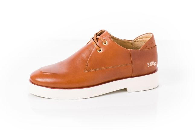380G Carin Wester Brown Leather Profile 1
