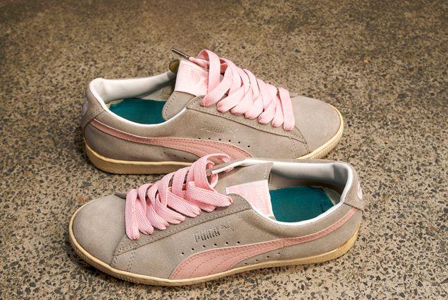 Puma Suede Grey Pink 1