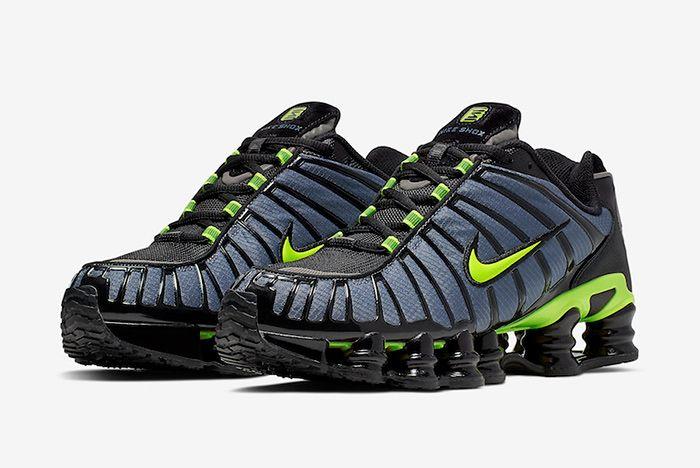 Nike Shox Tl Thunder Storm Volt Quarter