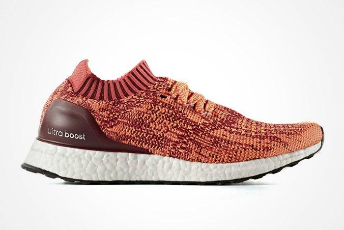 Adidas Ultra Boost Uncaged Solar Redfeature
