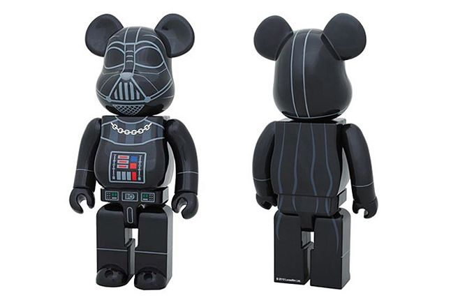 Star Wars Bearbrick Darth Vader 1