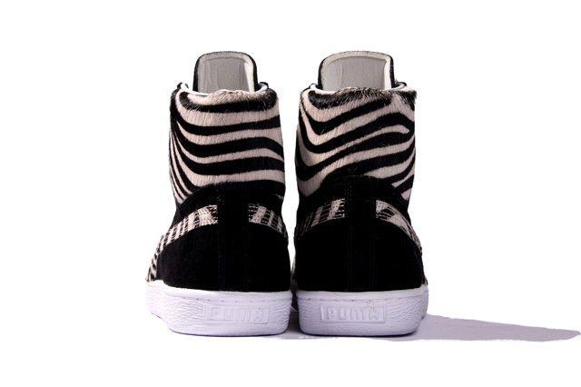 Puma Takumi Fw13 Mij Collection Suede Mid Black Heel Profile