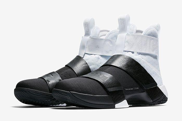 Nike Lebron Zoom Soldier 10 Pinnacle Black White 6