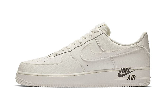 Nike Air Force 1 Low Sail Team Red New Branding 2