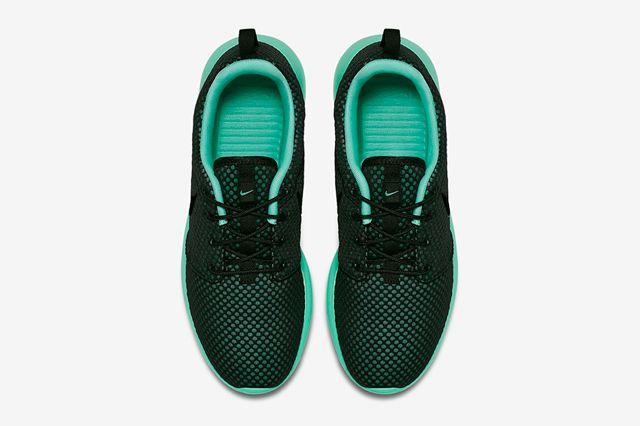 Nike Roshe Run Prm Green Glow2