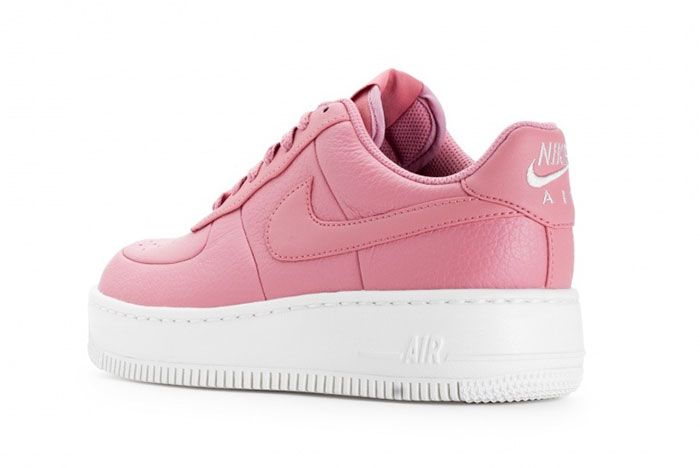 Nike Wmns Air Force 1 Upstep Red Stardust 4