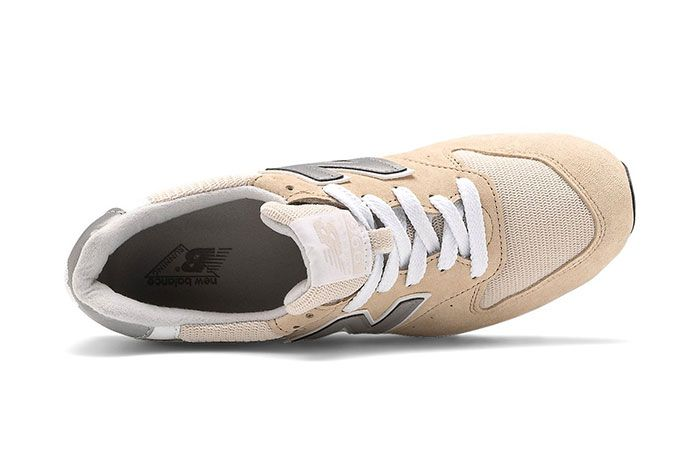 New Balance 996 Tan White Top