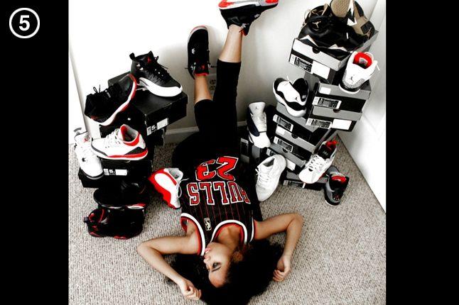 Six Kicks 5 Favourite Sneaker On A Girl Breds 1