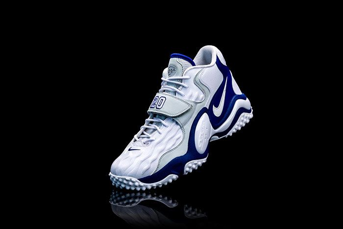 Barry Sanders Nike Air Zoom Turf Jet 97 Left Angled