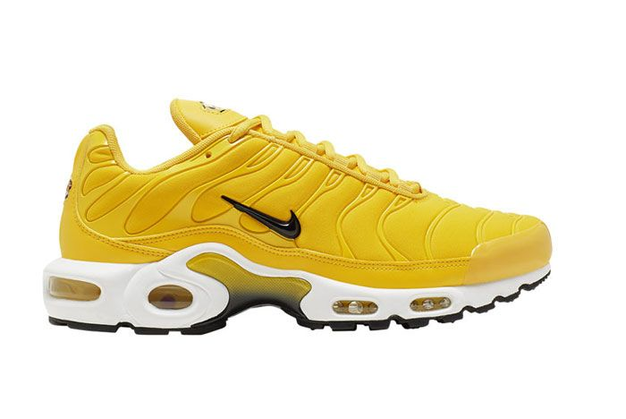 Nike Air Max Plus Yellow Bq9978 700 Lateral