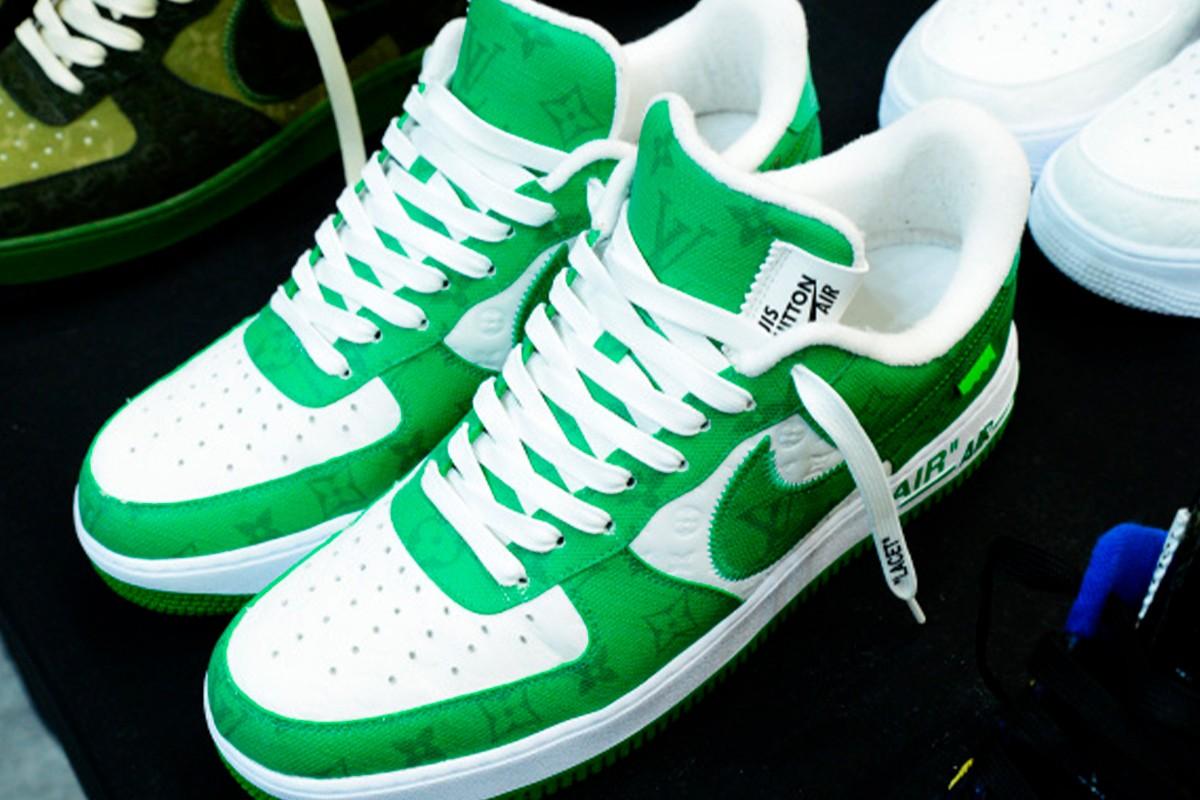 Louis Vuitton SS22 Nike Air Force 1