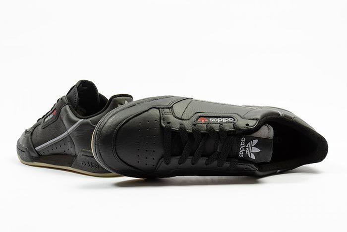Adidas Continental 80 Black Gum Bd7797 2