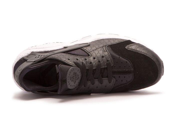 N Nike Air Huarache Run Premium Black 5