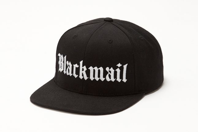 The Blackmail X Starter Snapback Front 1