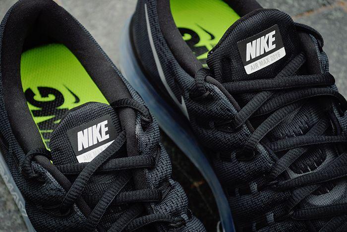 Nike Air Max 2016 Black White 4