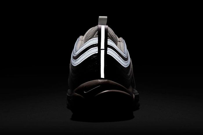 Nike Air Max 97 White Silver Iridescent Cj9706 100 Release Date Heel1