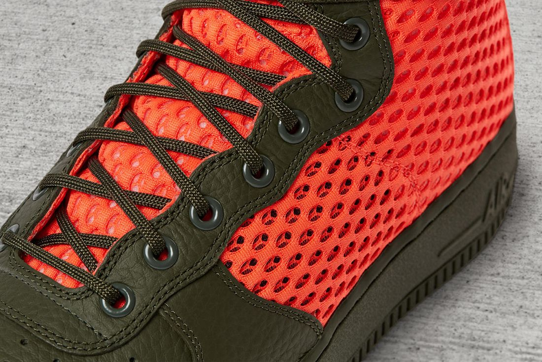 Nike Sf Air Force 1 Total Crimson 7