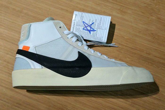 Off White X Nike Blazer 2 1