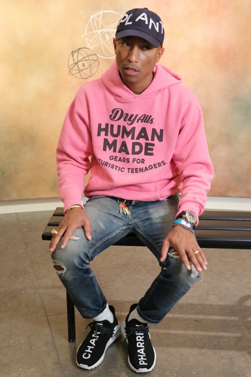 Chanel Adidas Originals Pharrell Williams Hu Nmd On Feet 6