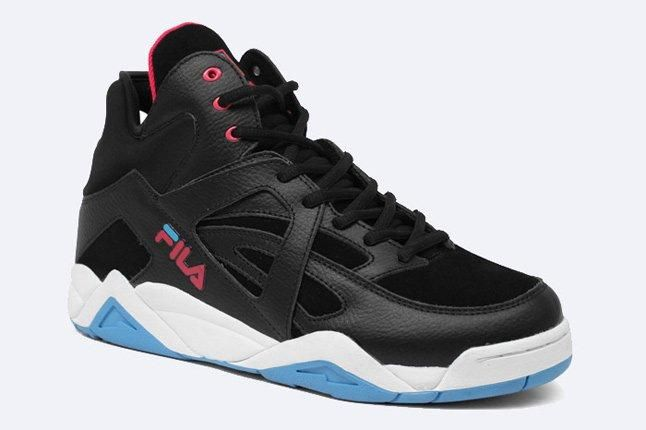 The Cage By Fila Black Pink Blue 2 1