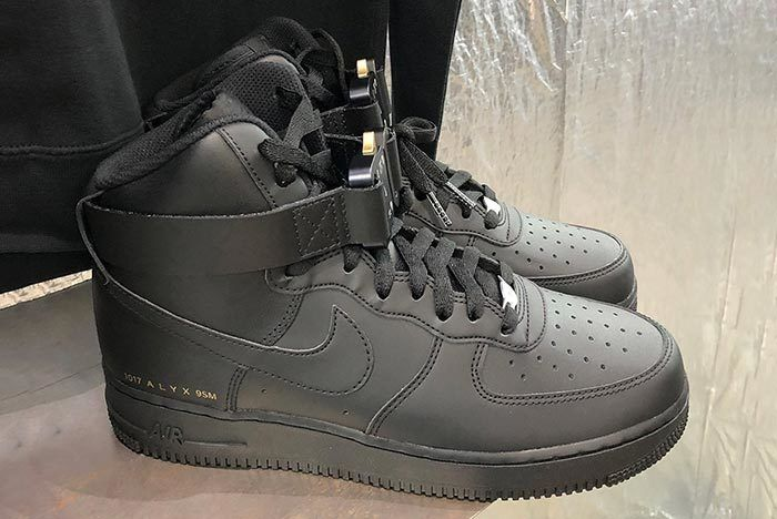 Alyx Nike Air Force 1 High Black