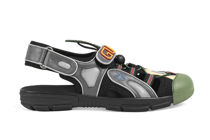 Gucci Sneaker Sandal Hybrid Black Right
