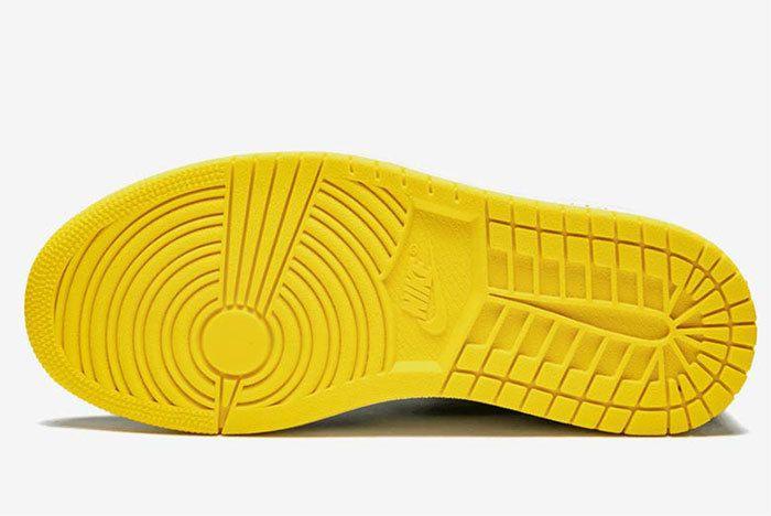 Air Jordan 1 Not For Resale Yellow 861428 107 2