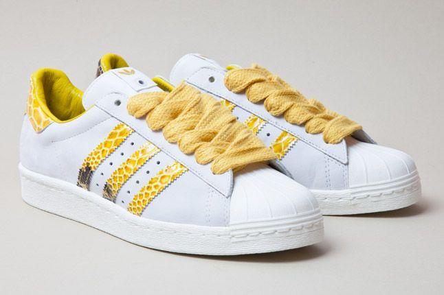 Adidas Consortium Shelltoe Snake Yellow 3 1