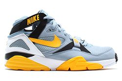 Nike Air Trainer Max 91 Stone Grey Yellow Black Thumb