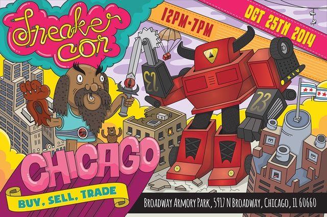 Sneaker Con Chicago October 1