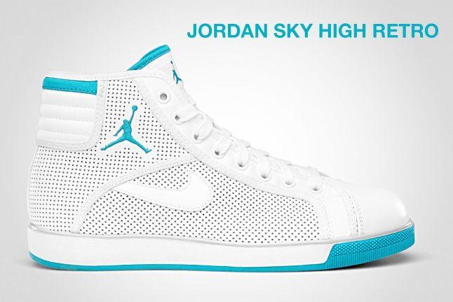Jordan Sky High Blue 1