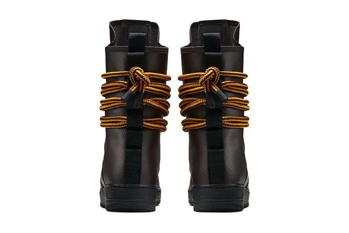 Nike Sf Af1 High Baroque Brown 3