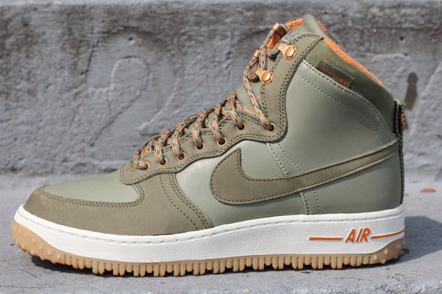 Nike Air Force 1 Military Boot Profile 1