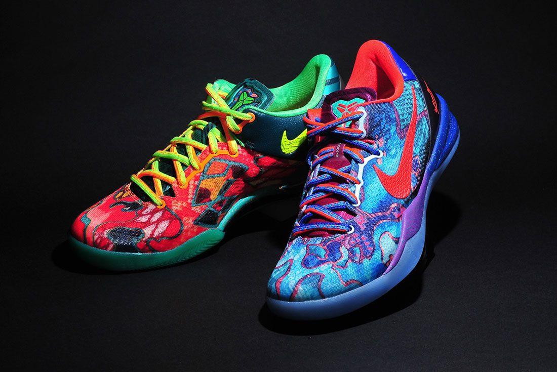 Nike Kobe 8 System Premium ' What The Kobe' Pair