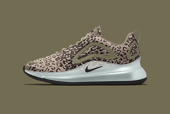 Maharishi Nike Air Max 720 By You Leopard Camo Bq7699 991 Olive