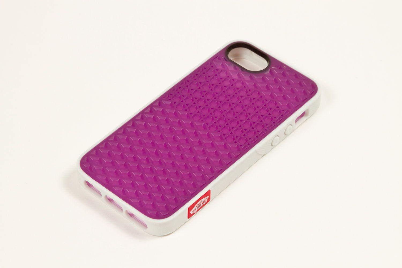 Vans X Belkin I Phone 5 Waffle Sole Case White Purple Tint
