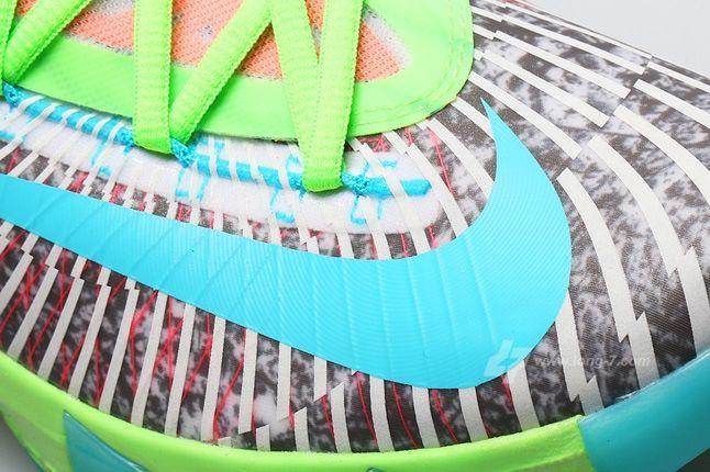 Nike Kd Vi Supreme Dc Heat Pack Toe Detail 1