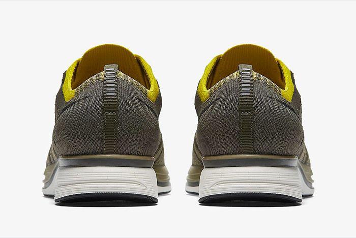 Nike Flyknit Trainer Cargo Khaki Citron 2