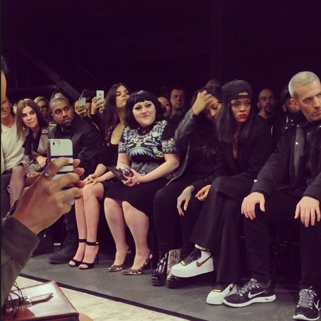 Rihanna Sneaker Style Profile Ricardo Tisci