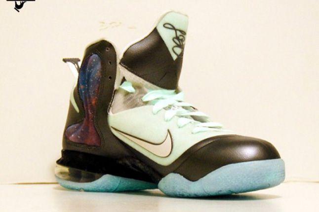 Nike Lebron 9 Brightest Galaxy Customs Gourmet Kickz 07 1