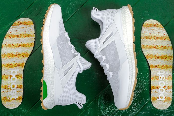 Adidas Golf Cross Knit Boost Pimento Cheese2