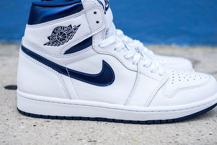 Air Jordan 1 High Og White Navy Release Details 7