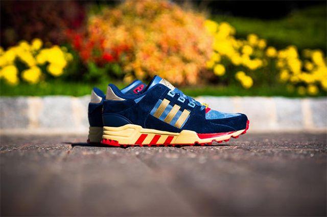 Packer Shoes X Adidas Eqt