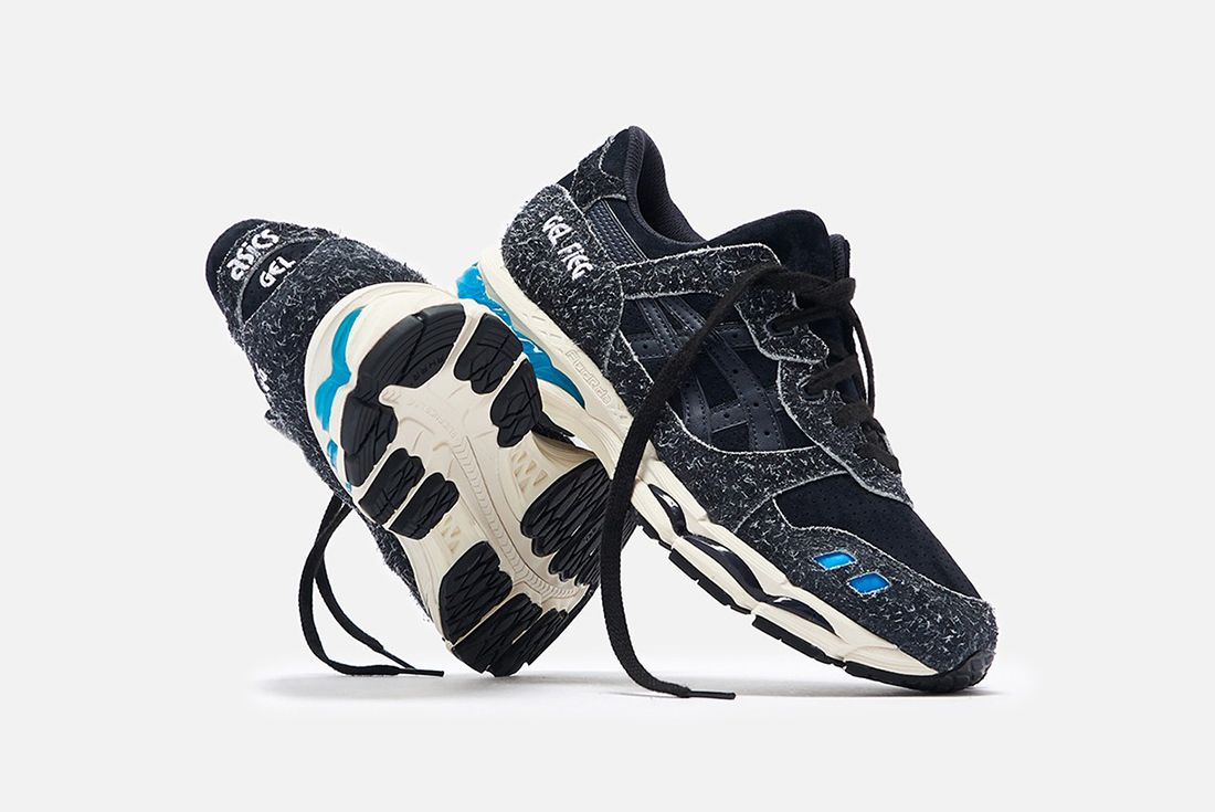Ronnie Fieg Asics Gel Lyte 3 1 Super Blue Front Angle