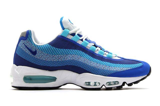 Nike Air Max 95 Jacquard Triple Blue 1