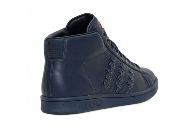 Adidas By Opening Ceremony Baseball Stan Smith Blk Heel2