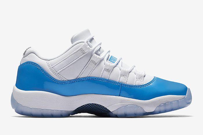 Air Jordan 11 Low University Blue3