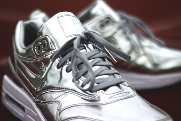 Nike Id Air Max 1 Olympic Medals Silver 1